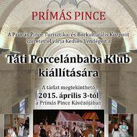 Porcelánbabák a Prímás Pincében