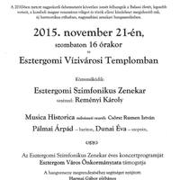 Az Esztergomi Szimfonikus Zenekar hangversenye
