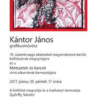 Kántor János kiállítása a Duna Múzeumban