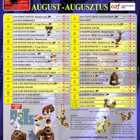 Augusztus a párkányi Danubius Moziban