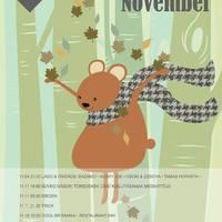 Kaleidoszkóp Ház - November