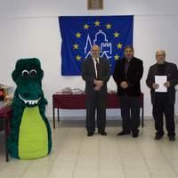 A XII. Ister-Granum Eurorégiós Rajzverseny díjazottjai