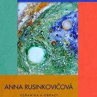 Anna Rusinkovičová kerámiái és festményei Párkányban a Barta Gyula Galériában