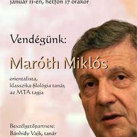 Maróth Miklós a Könyvtárban