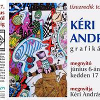 Kéri András grafikus kiállítása a Tár-Lak Szalonban