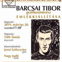 Tár-Lak Szalon - Barcsai Tibor emlékkiállítása