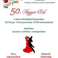 50. Magyar Bál