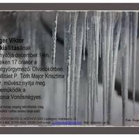 Krűger Viktor fotókiállítása az Olvasókörben