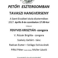Petőfi Esztergomban - tavaszi hangverseny