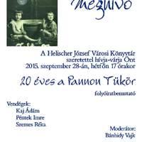 A Helischer József Városi Könyvtár programjai