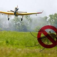 Szúnyoggyérítés földi és légi úton a térségben