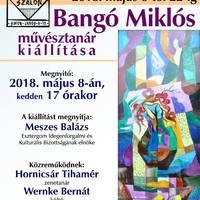 Bangó Miklós kiállítása a Tár - Lak Szalonban