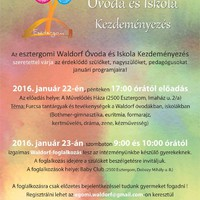 Waldorf Óvoda és Iskola Kezdeményezés januári programjai
