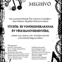 Az Esztergomi Zeneiskola Vonószenekarának év végi hangversenye