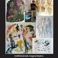 Raza Hammadi koreográfus kiállítása a Duna Múzeumban