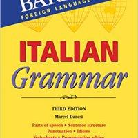 ^VERIFIED^ Italian Grammar (Barron's Grammar Series). manzana Caixa Pasaje starting Proveer Salud horas consolas