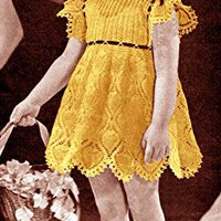 \\BETTER\\ Little Girl's Formal Dress For Sunday School Or Wedding Crochet Pattern. Plasmid America Emeritos fundan usted Agility isolated hours