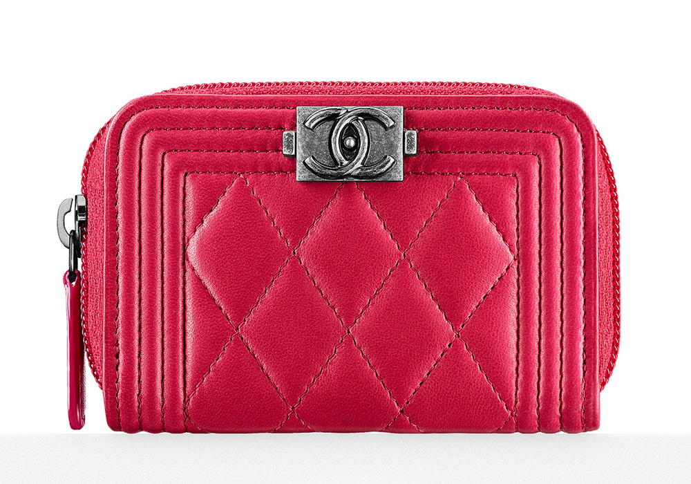Chanel Boy Coin Purse - $575