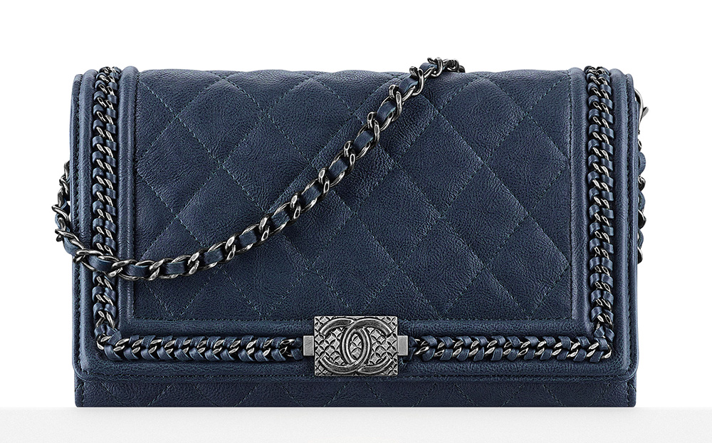 Chanel Boy Wallet on Chain Bag - $2,000