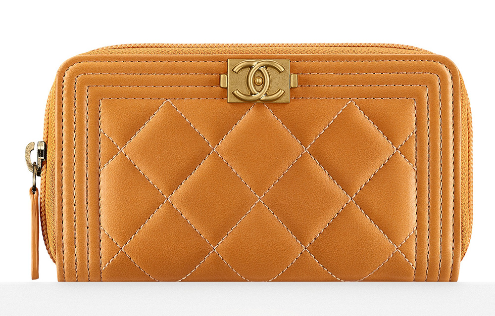 Chanel Boy Zipped Wallet - $700