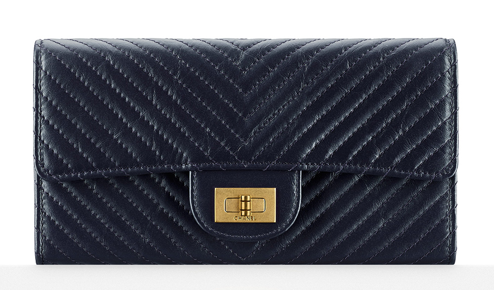 Chanel Chevron Flap Wallet - $1,000