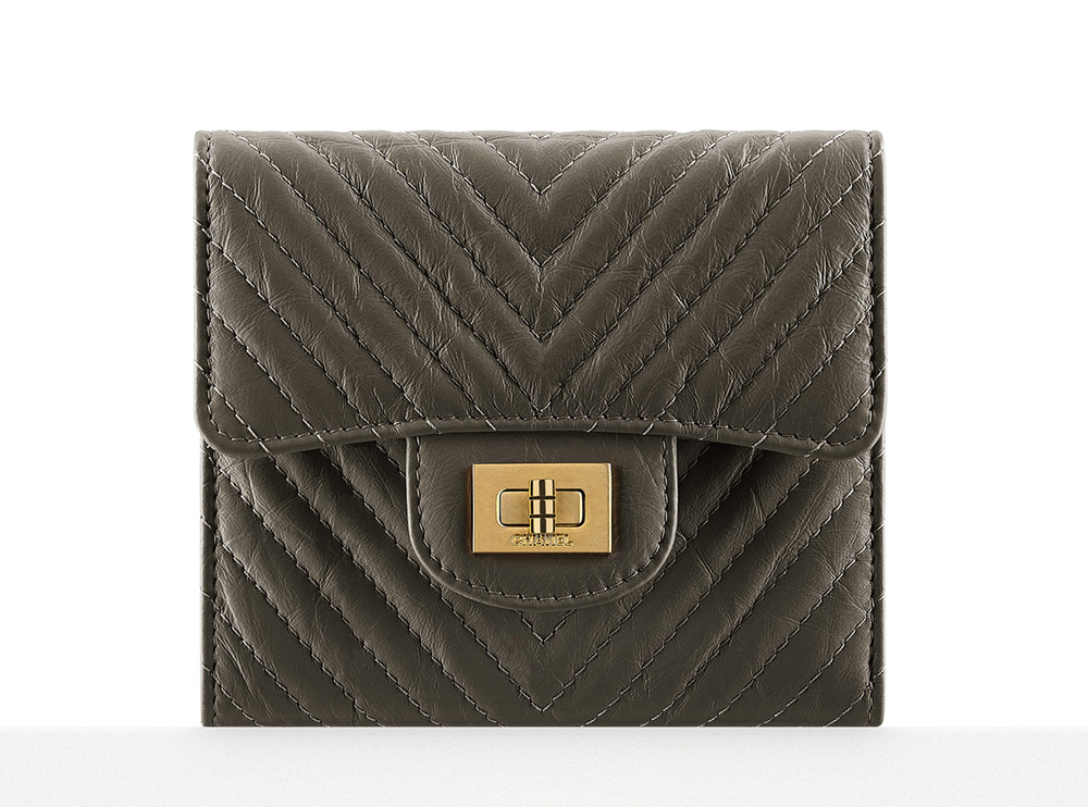 Chanel Chevron Small Wallet - $800