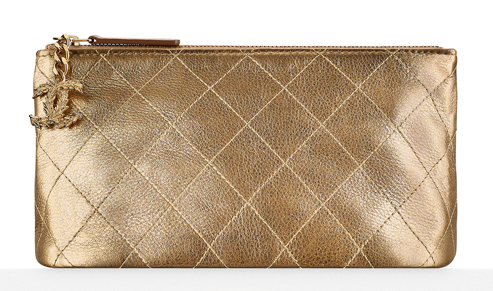 Chanel Metallic Pouch - $675