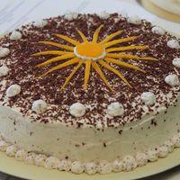 Mákvirág torta