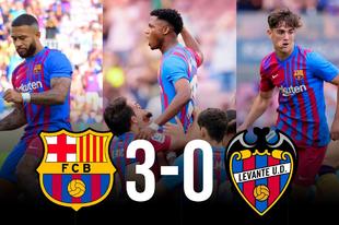 Egy csodás út kezdete? Barcelona-Levante 3-0!