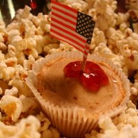 PB&J cupcake