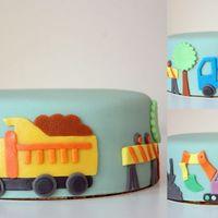 Építkezés a tortán