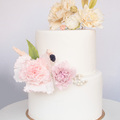 Cukorvirágos torták