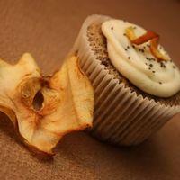 Almás mákos cupcake