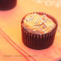 Csupa csoki cupcake