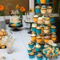 Türkizkék narancs esküvő