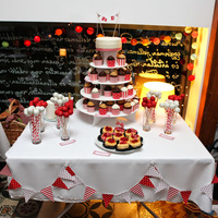 Piros-fehér Fruskás esküvő