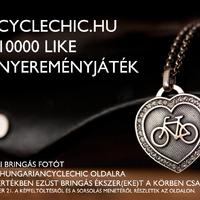 10000 like nyereményjáték - tölts fel képet és nyerj ezüst bringás ékszert!