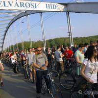 Szegeden kezdődött az idei Critical Mass szezon