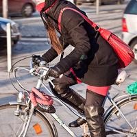 Sandy Claus - a téli bringás stílus magasiskolája