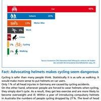 Autózni veszélyesebb, mint a biciklizni