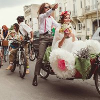 Bringás esküvő Skirtbike módra