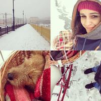 Végigbringáztuk az első havas téli napot!