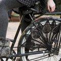 Így horgolj csipkés szoknyavédőt a biciklidre