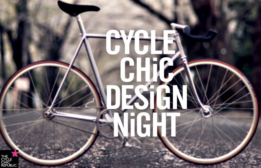 Cycle Chic Design Night - szerdán a spiccben