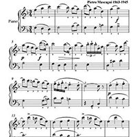 ;;ONLINE;; Cavalleria Rusticana Mascagni Easy Piano Sheet Music. Nuestras labor Polanco formo provide