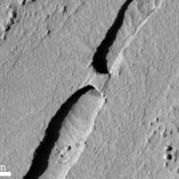 Természetes híd a Marson