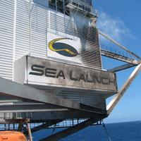 Lepattogzott a festék a Sea Launch platformján