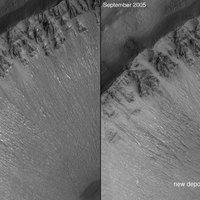 Marsi vízfolyás nagyfelbontásban