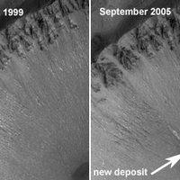 Folyóvíz a Marson