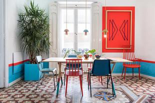 Bátran a színekkel! - Design Hostel style
